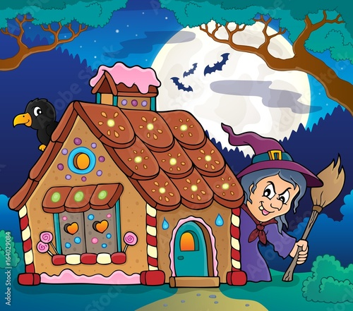 Gingerbread house theme image 4
