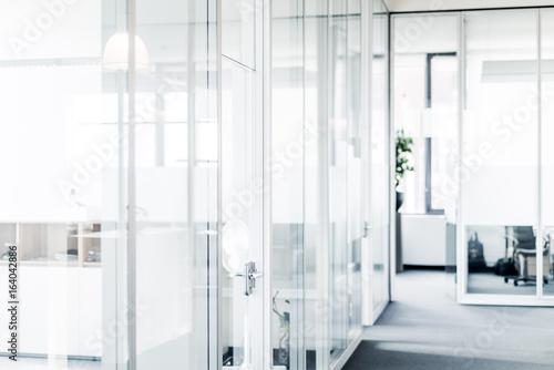 fototapeta na ścianę Blurred Office Interior