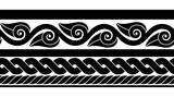 Classic ancient Roman border - 164046400