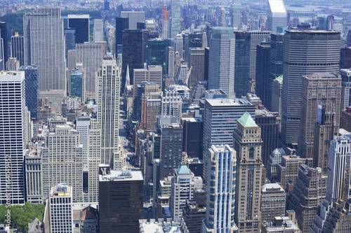 Big city background - New York city Poster