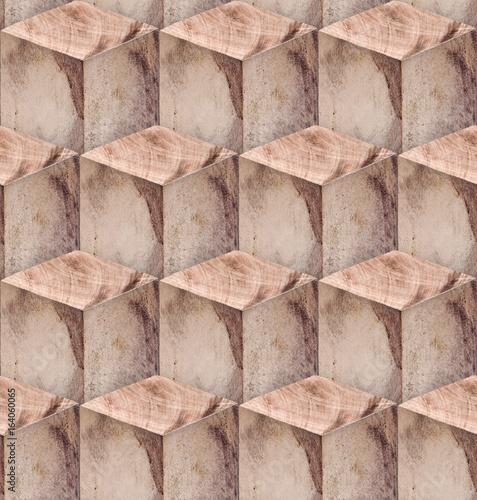 wooden blocks seamless - 164060065