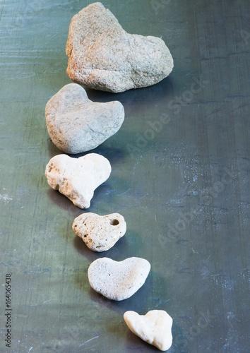 Foto op Aluminium Stenen in het Zand stone