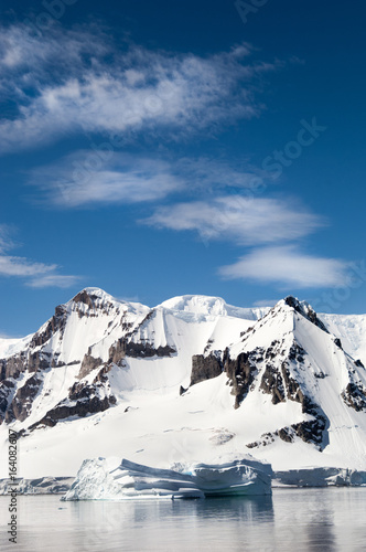 Fotobehang Antarctica Landscape photography along the Antarctic Peninsula.