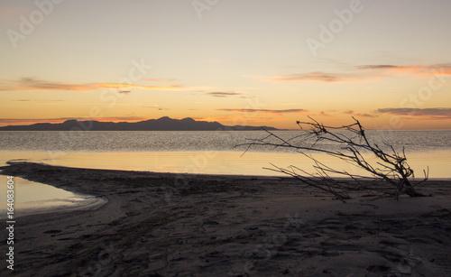 Great salt lake evening