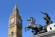 view of Big Ben, London, UK - 164094468