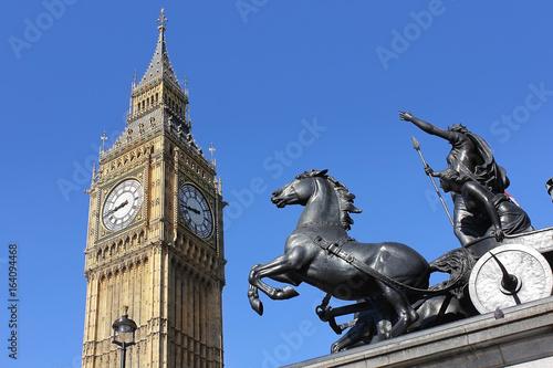 view of Big Ben, London, UK