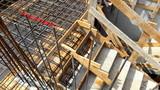 Cantiere edile - tutto pronto per il getto del cemento