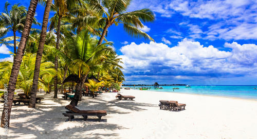 relaxing tropical holidays in Mauritius island