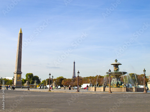 obelisk at paris poster affiche acheter le sur. Black Bedroom Furniture Sets. Home Design Ideas