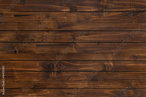 horizontal wood background. Top View Of Brown Wooden Horizontal Planks, Wood Background