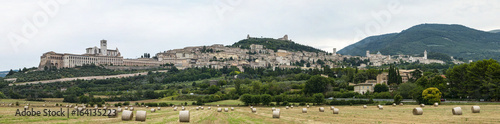 Poster Panoramica di Assisi