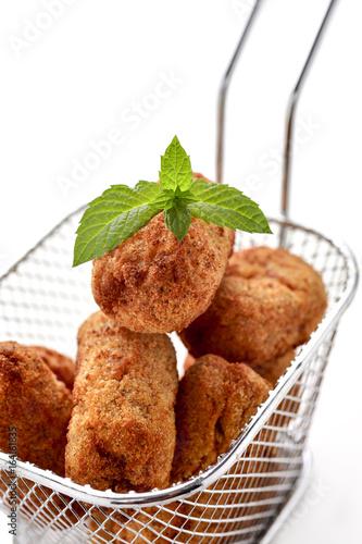 homemade croquetas, spanish croquettes