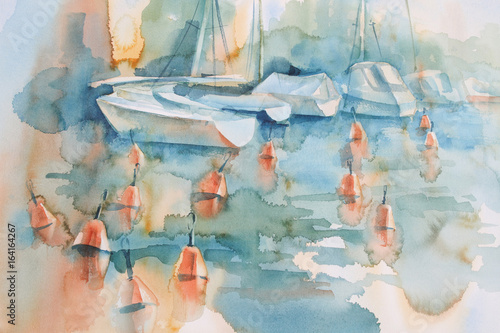 boats-and-buoys-watercolor-background