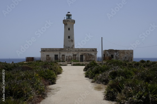 lighthouse in sicily