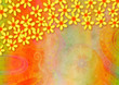 Hand Painted Floral Watercolor Collage Paper