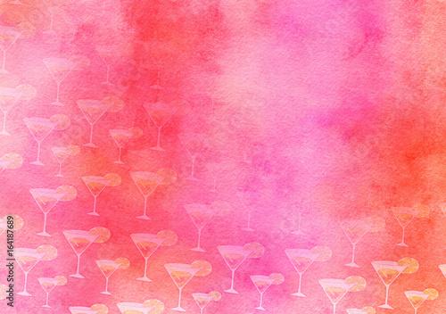 Fruit Cocktail Watercolour Party Paper