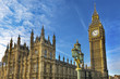 Big Ben Tower Westminster Bridge Houses of Parliament Westminste