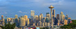 View of the Seattle city from Kerry Park, Washington