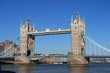 tower bridge London view across the thames 2 tower and draw bridge