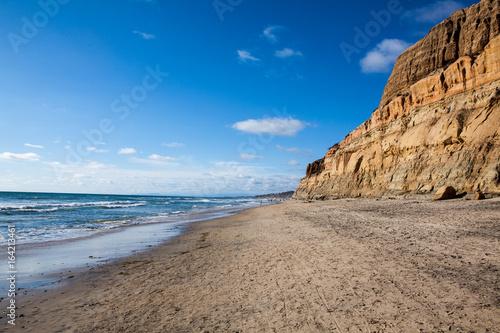 Beach at Torrey Pines State Park, California