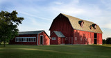 Big Red Barn-panorama - Door County WI - 164219414