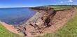 Red Rocks on Cavendish Beach Pano, Prince Edward Island