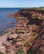 Red Rocks on Cavendish Beach (Portrait),  Prince Edward Island