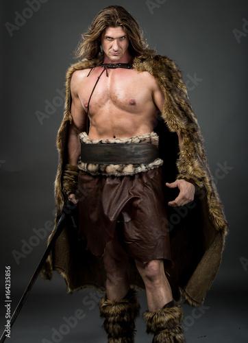 Viking Man Poster