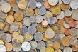 Coins from various countries from all over the world - 164247672