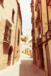 Narrow street in old  Tortosa - 164253213