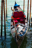 Gondola in  Venice, Italy.