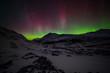 Athabasca Glacier & The northern Lights