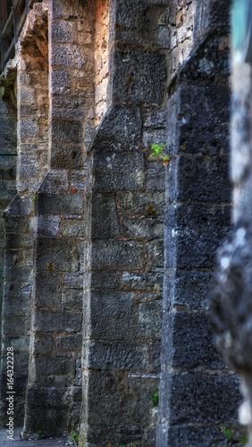 Stadtmauer in Rothenburg ob der Tauber