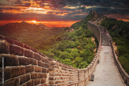 great Chinese wall Poster