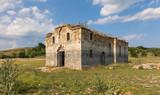 Ruins of the St Ivan Rilski Church near Zhrebchevo Dam, Bulgaria - 164343294