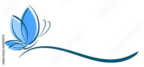 Logo butterfly. - 164359073