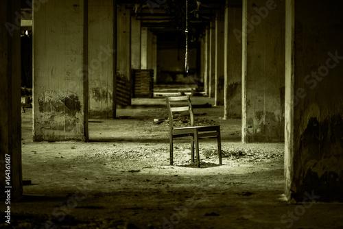 Fotobehang Oude verlaten gebouwen Einsam