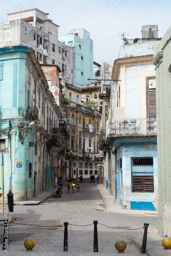 Spoed canvasdoek 2cm dik Havana Streets of Cuba