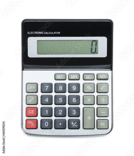 Calculator On Top View - 164391034