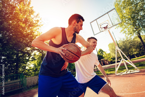 Fotobehang Basketbal This Is Good Action