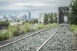 Calgary railway skyline