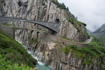 Teufelsbrücke Schöllenen