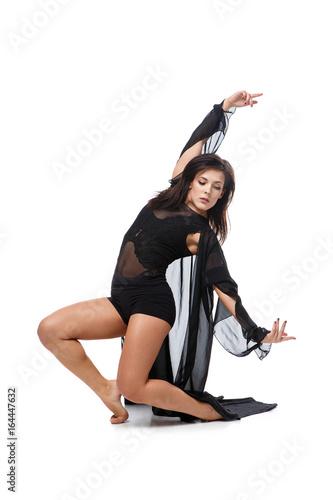 Plexiglas Beautiful modern dancer girl