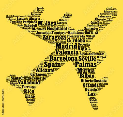 Localities in Spain