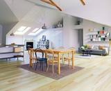 Attic floor design - 164473652