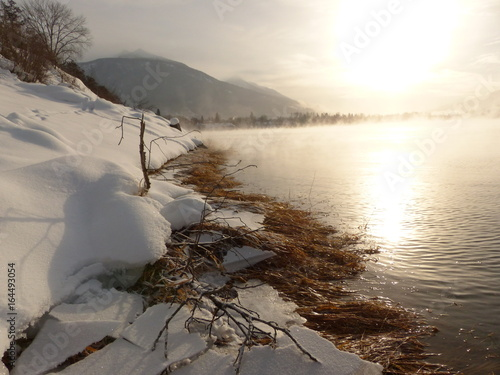 Cold Winter Mornings Along The Columbia River