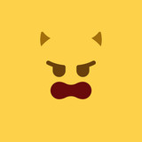 Emoji Tile Evil - 164515864