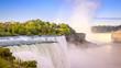 Niagara Falls on the USA side.
