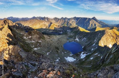 Mountain landscape at summer in Slovakia Tatras
