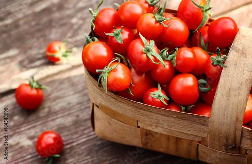 basket harvest fresh tomato - 164548898